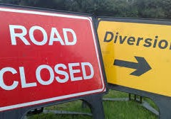 Albion Road – evening closure