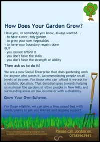 How Does Your Garden Grow? CIC