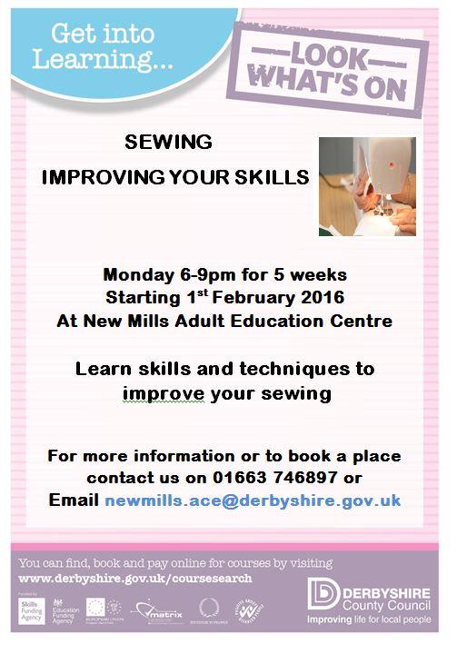 new mills adult education