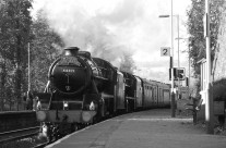 Steaming through New Mills
