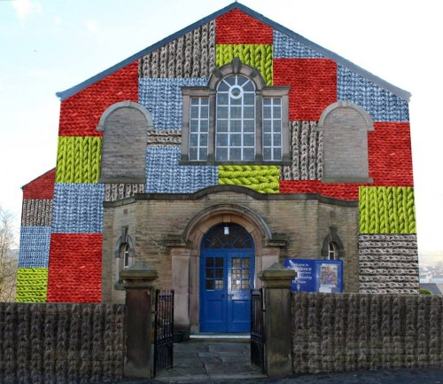 knitted church