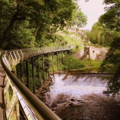 New Mills Millennium Walkway now reopened