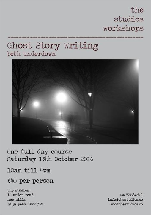 Ghost Story Writing with Beth Underdown