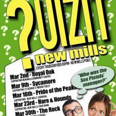 March Quizits at a pub near you
