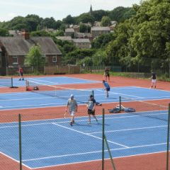 Get ready for Wimbledon at New Mills Tennis Club