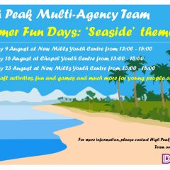 Summer fun at New Mills Youth Centre