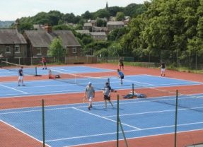 Family activities at New Mills tennis club this summer