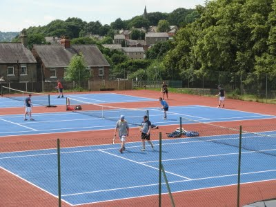 Summer Coaching Camps on now at New Mills Tennis Club