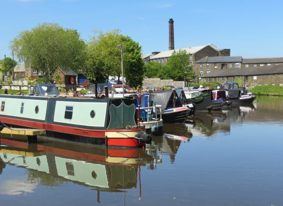 New Mills Marina – self catering options for campervans and cottages