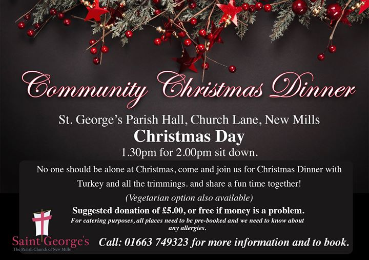 community christmas dinner christmas day - Any Restaurants Open On Christmas Day