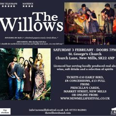 The Willows playing at St Georges Church