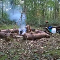 A summer of Bushcraft