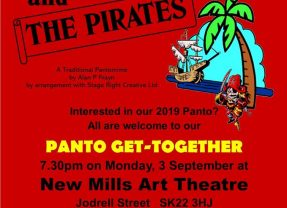 New Mills Art Theatre Panto get together