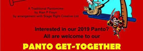 New Mills Art Theatre Panto get together