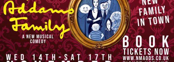 The Addams Family Musical – Weird. Witty. Wonderful. Wacky.