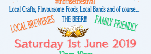Thornsett Festival – A celebration of food, drink, crafts and music