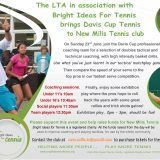 Davis Cup Tennis Comes to New Mills Tennis Club