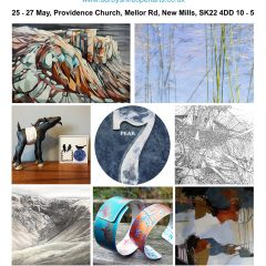 The Peak 7 Artists _ Derbyshire Open Arts 2019