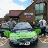 Banger rallying across Europe raising funds for High Peak patients with life-limiting illnesses