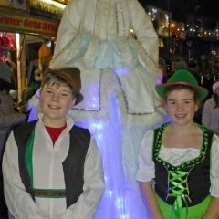 New Mills Christmas Lights Switch On