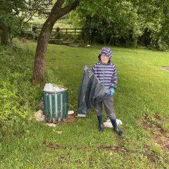 Lockdown litter picking