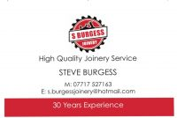 S. Burgess Joinery