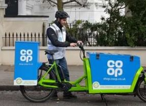 Home deliveries within 2 hours from the Co-op