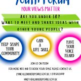 High Peak Youth Forum – Latest News