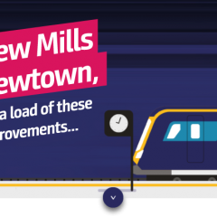 New Mills Station Benefits from Investment in Improvements