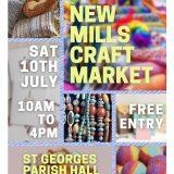 New Mills Craft Market 10th July